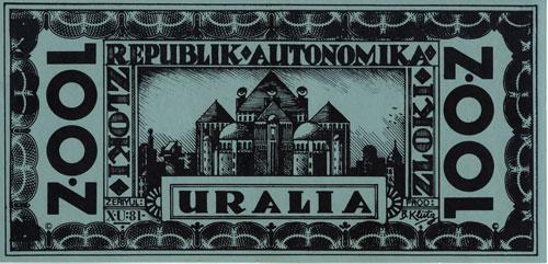 100 zloki banknote (front)