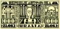 Banknote - 1000 Zloki (front)