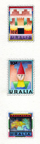 Uralia Folk Stamps