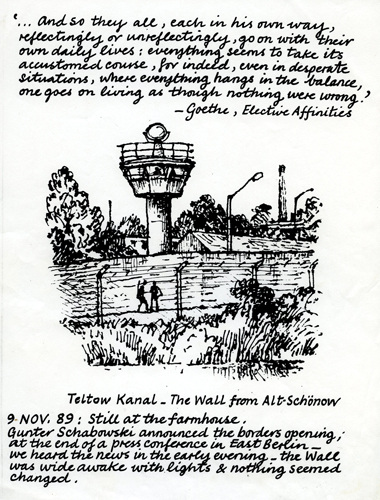 Teltow Kanal by Bob Gale (1989)