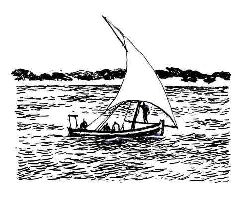 Dhow Sketch