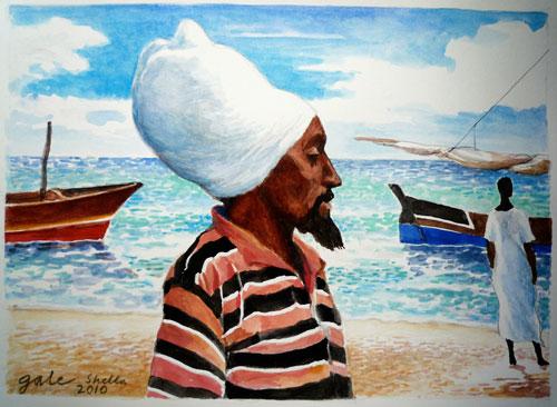 Man with White Turban