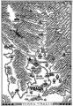 Medieval Woodcut Map of Uralia