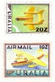 Uralia Aviation Stamps