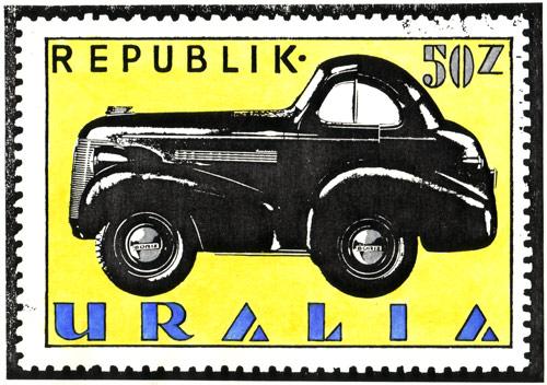 Uralia Boriz Car Stamp