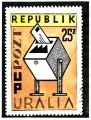 Uralia Post Office Stamp