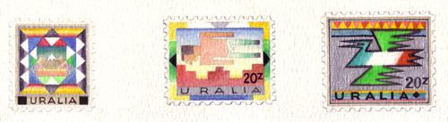 Uralia Regional Cultures Stamps