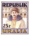 Uralia Revolution Stamp