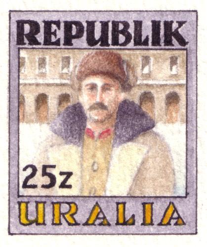 Uralia Revolution Stamp