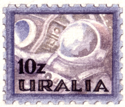 Uralia Space Stamps (detail)