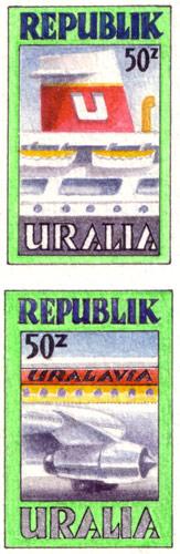 Uralia Transport Stamps